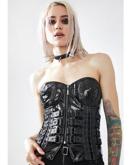 Love And Imprisonment Buckle Corset