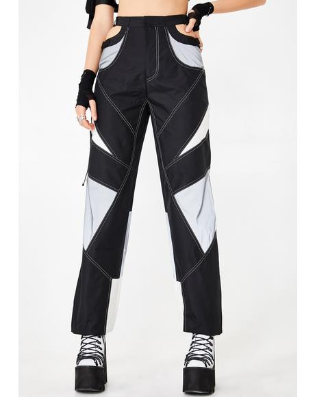 Reflective Motocross Bumster Trousers