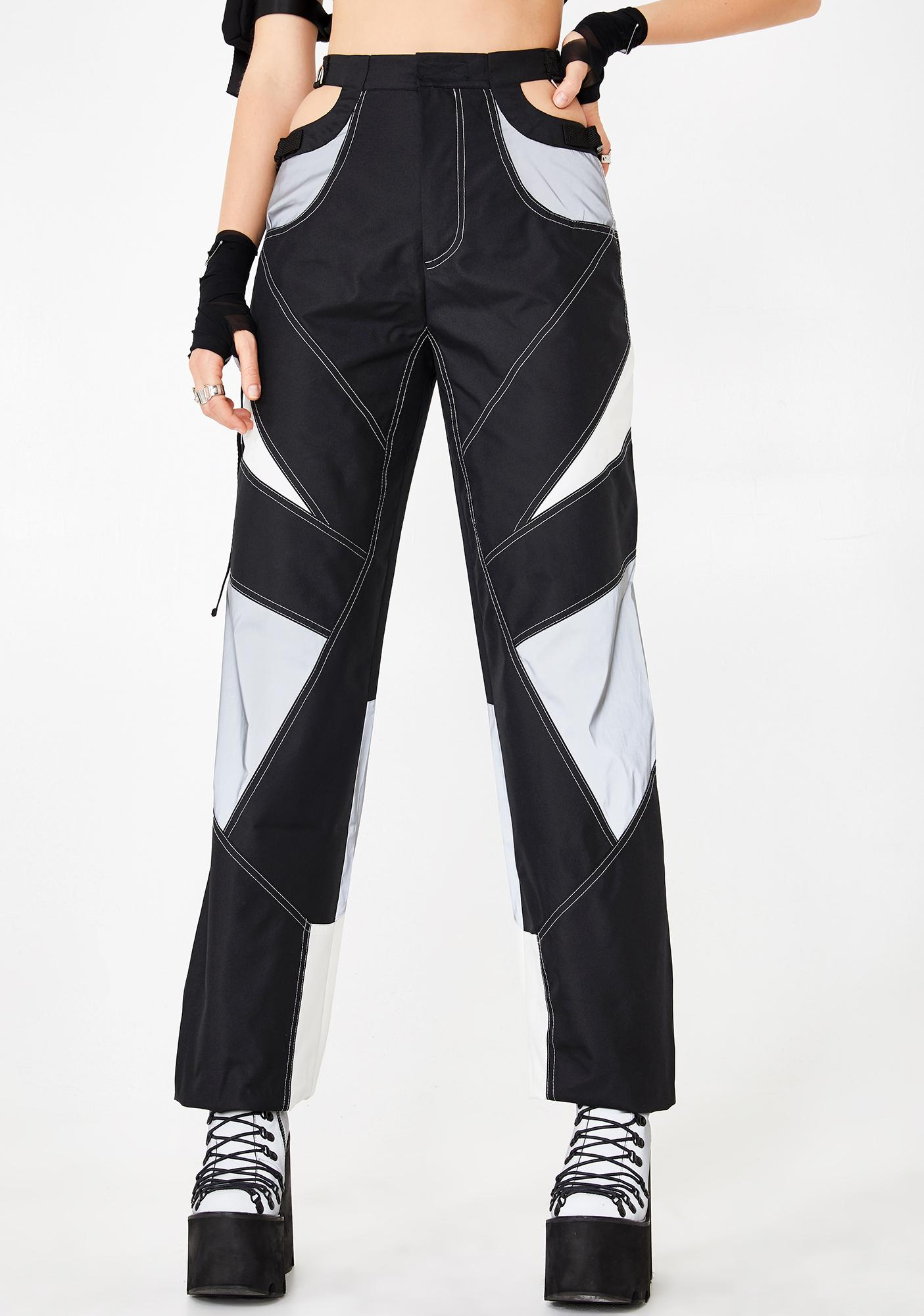 Namilia Reflective Motocross Bumster Trousers