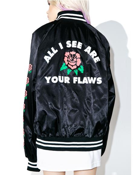Flaws Satin Jacket