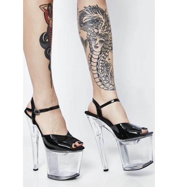 Dark Illumanaughty Platform Heels