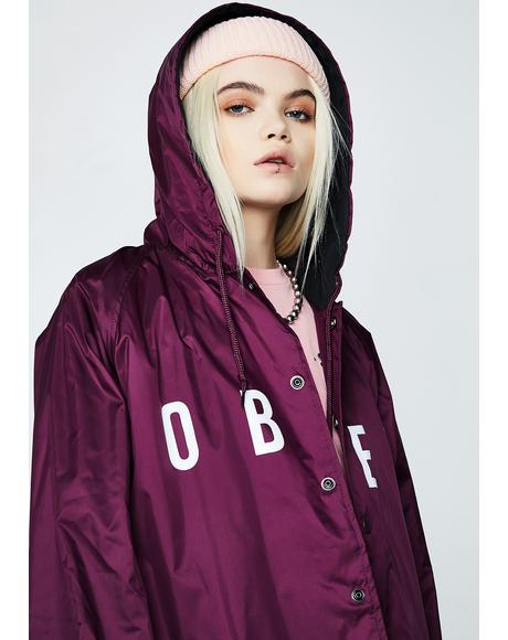 Anyway Hooded Coach Jacket