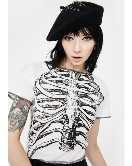 No Skin All Bones Graphic Tee