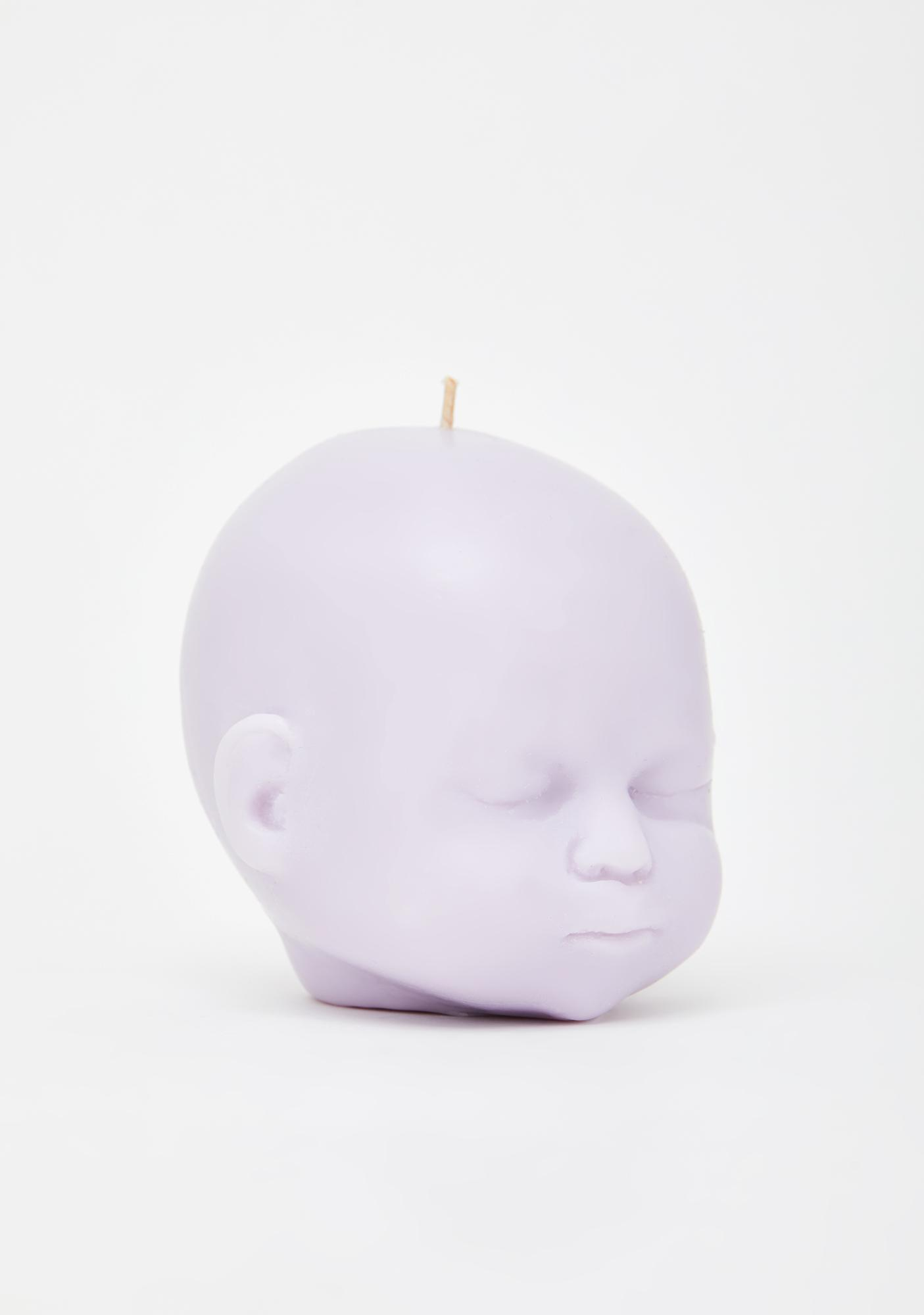 The Blackened Teeth Lilac Baby Doll Soy Candle