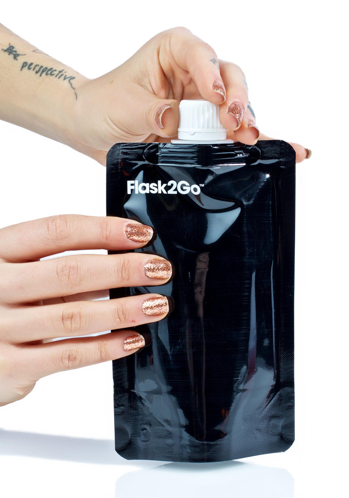 Day Fade Foldable Flask Set