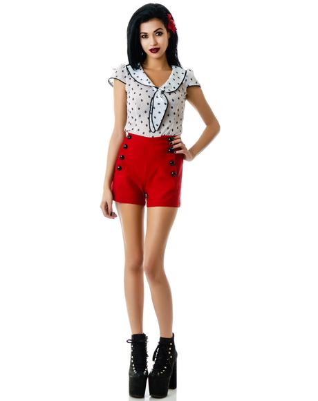 Ruby High Waisted Shorts
