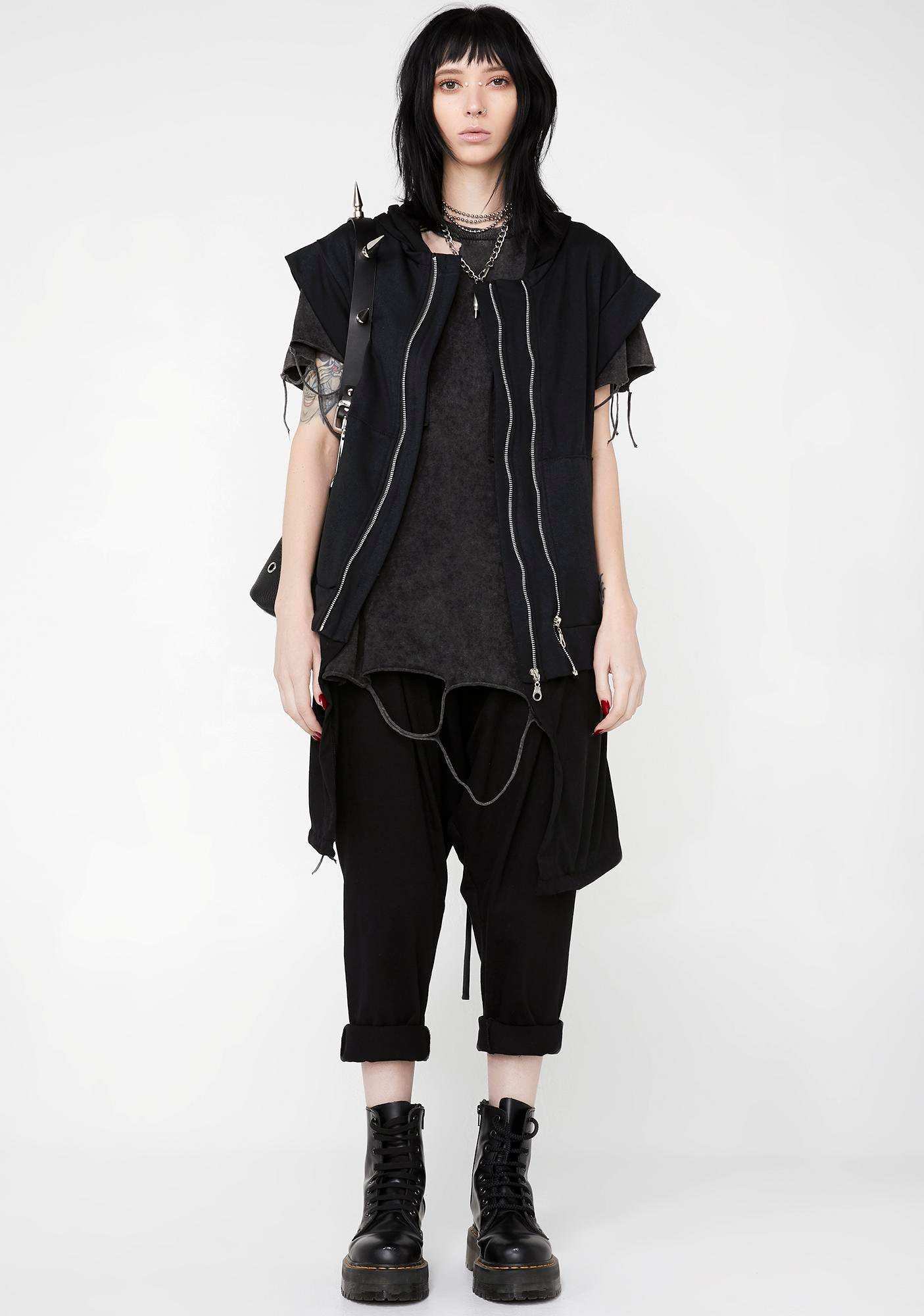 MNML Cruel World Zip Cardigan