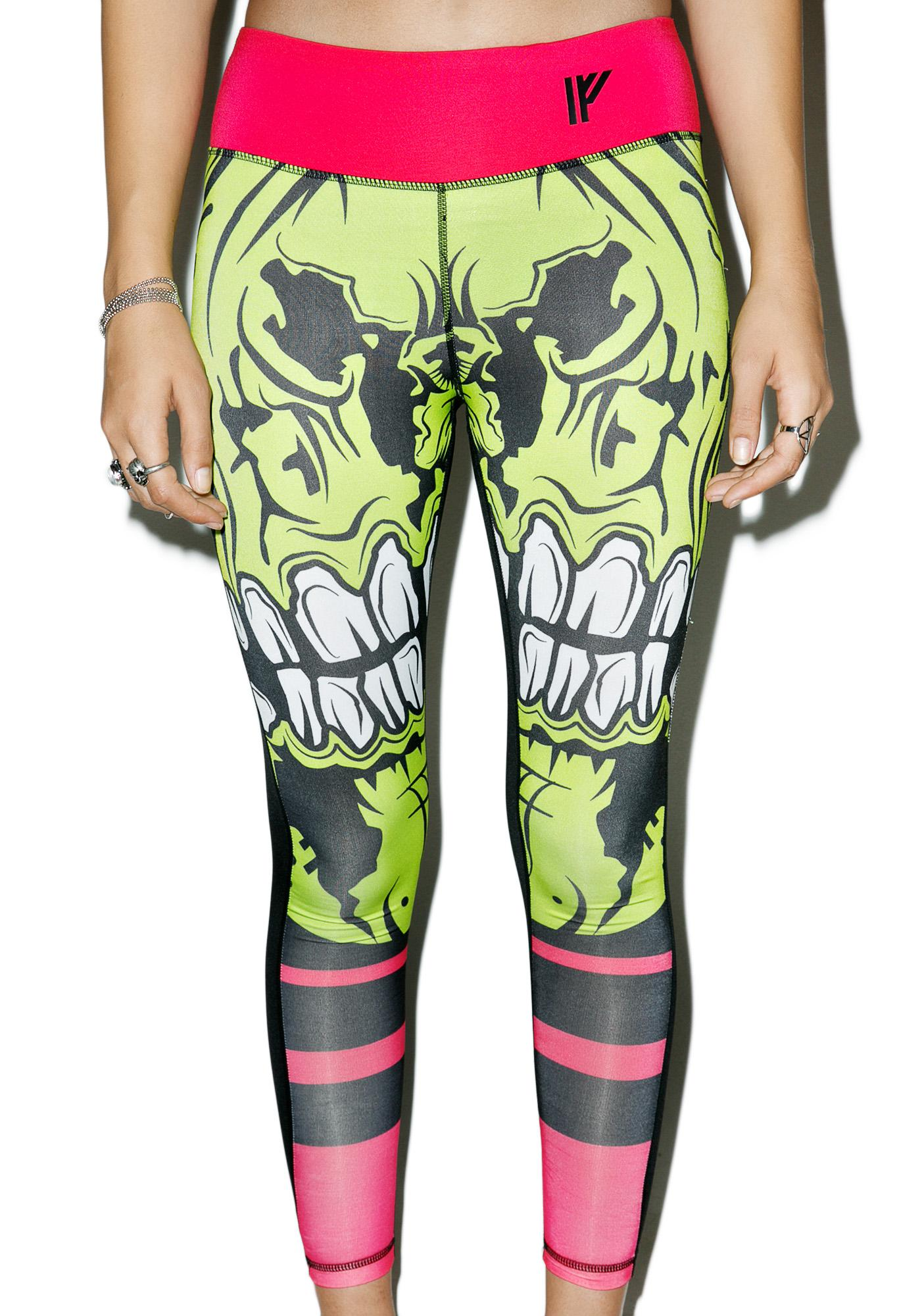 Iron Fist Zombie Chomper Leggings