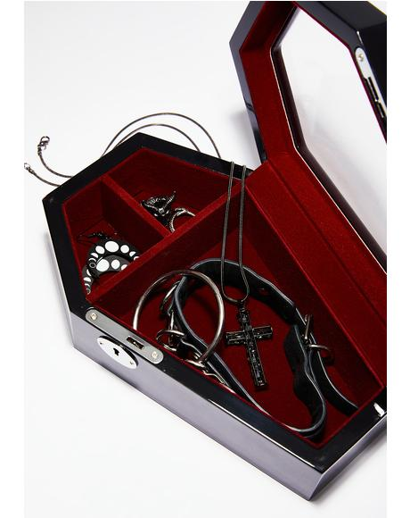 Casket Case Jewelry Box