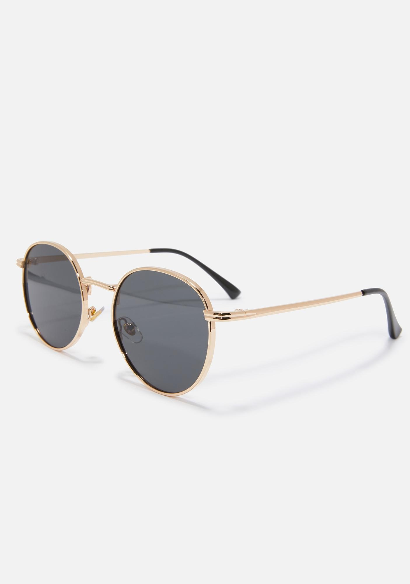 Don't Even Bother Wire Frame Sunglasses