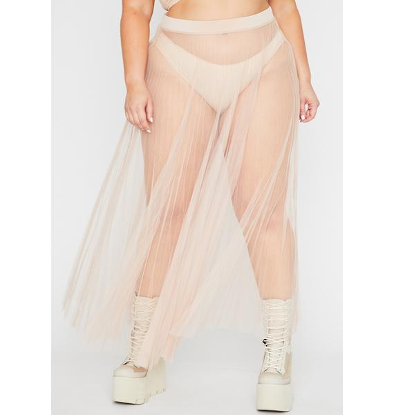 Nude Her Fall From Grace Maxi Skirt