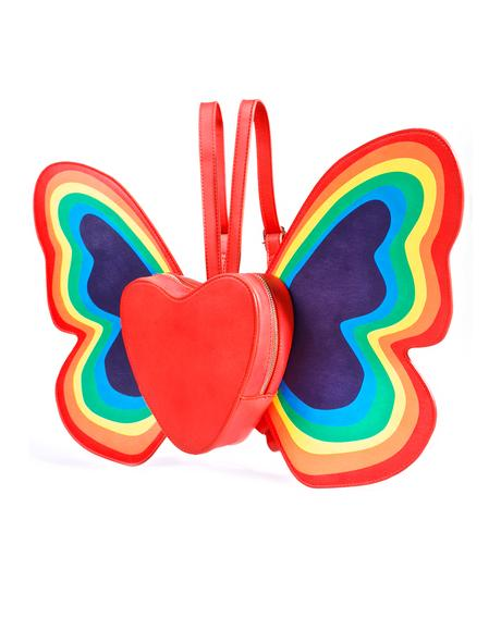 Happy Butterfly Backpack