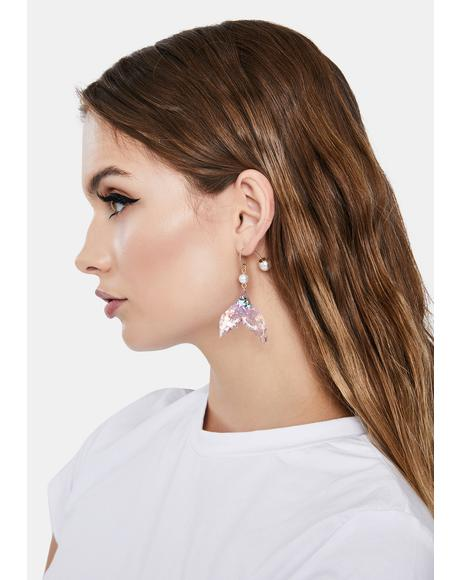 Splish Splash Drop Earrings
