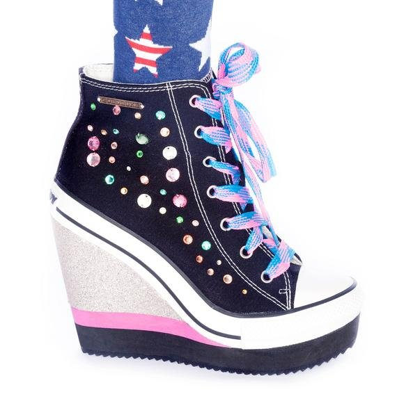 Lulu Party Platform Sneakers