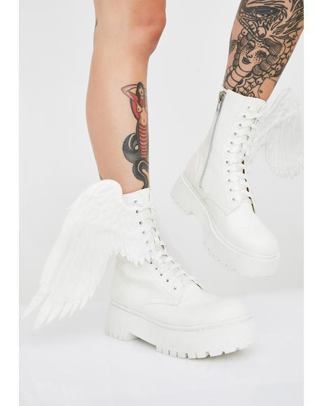 Such A Cherub Combat Boots