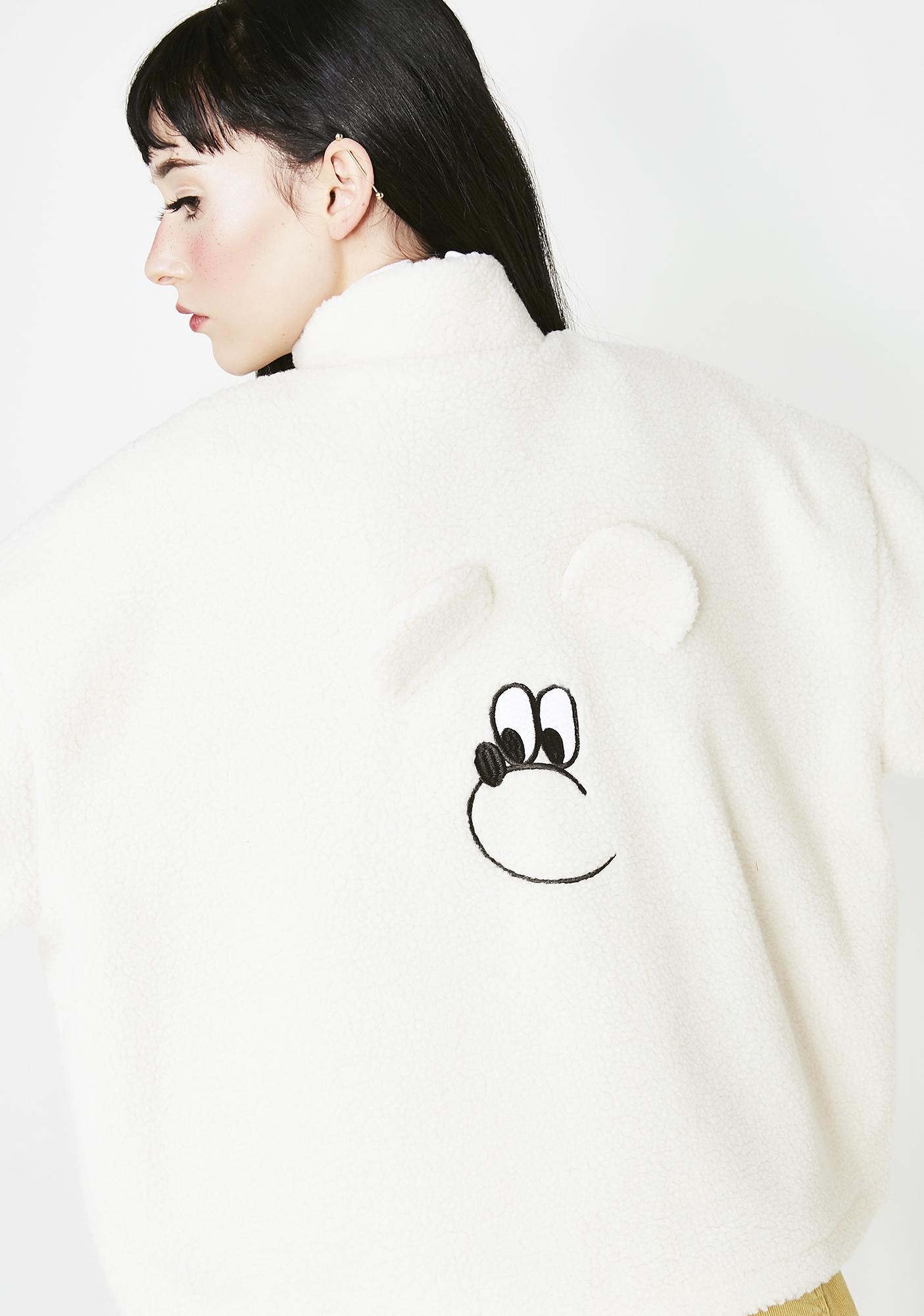 1b7b6a181f ... Lazy Oaf Teddy Bear Jacket