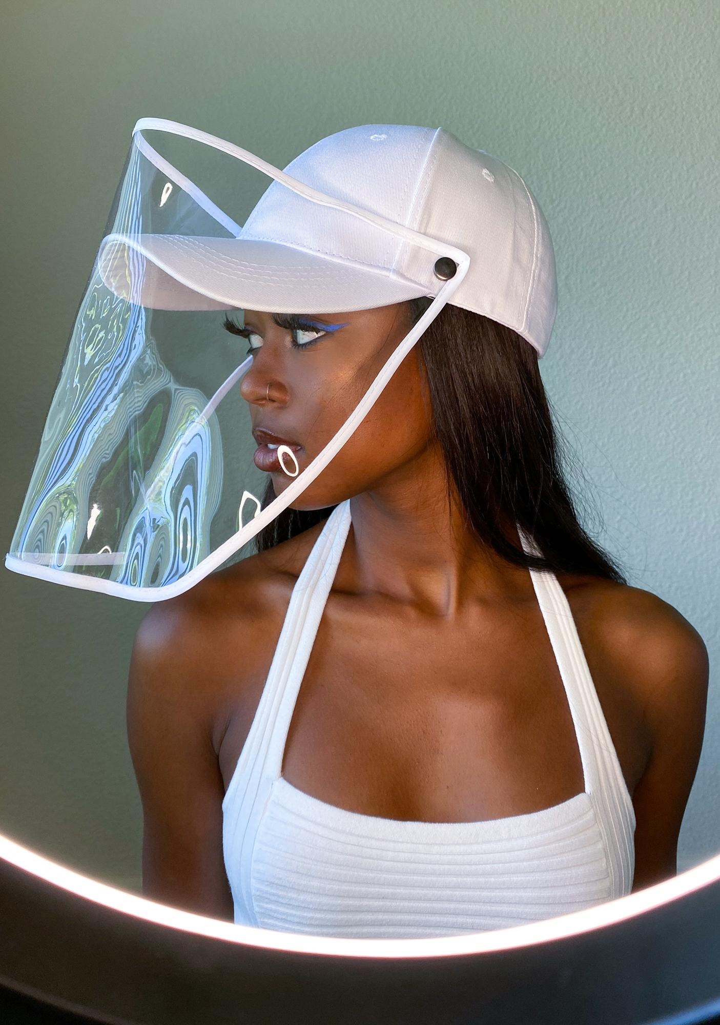Gemelli White Safety Shield Hat