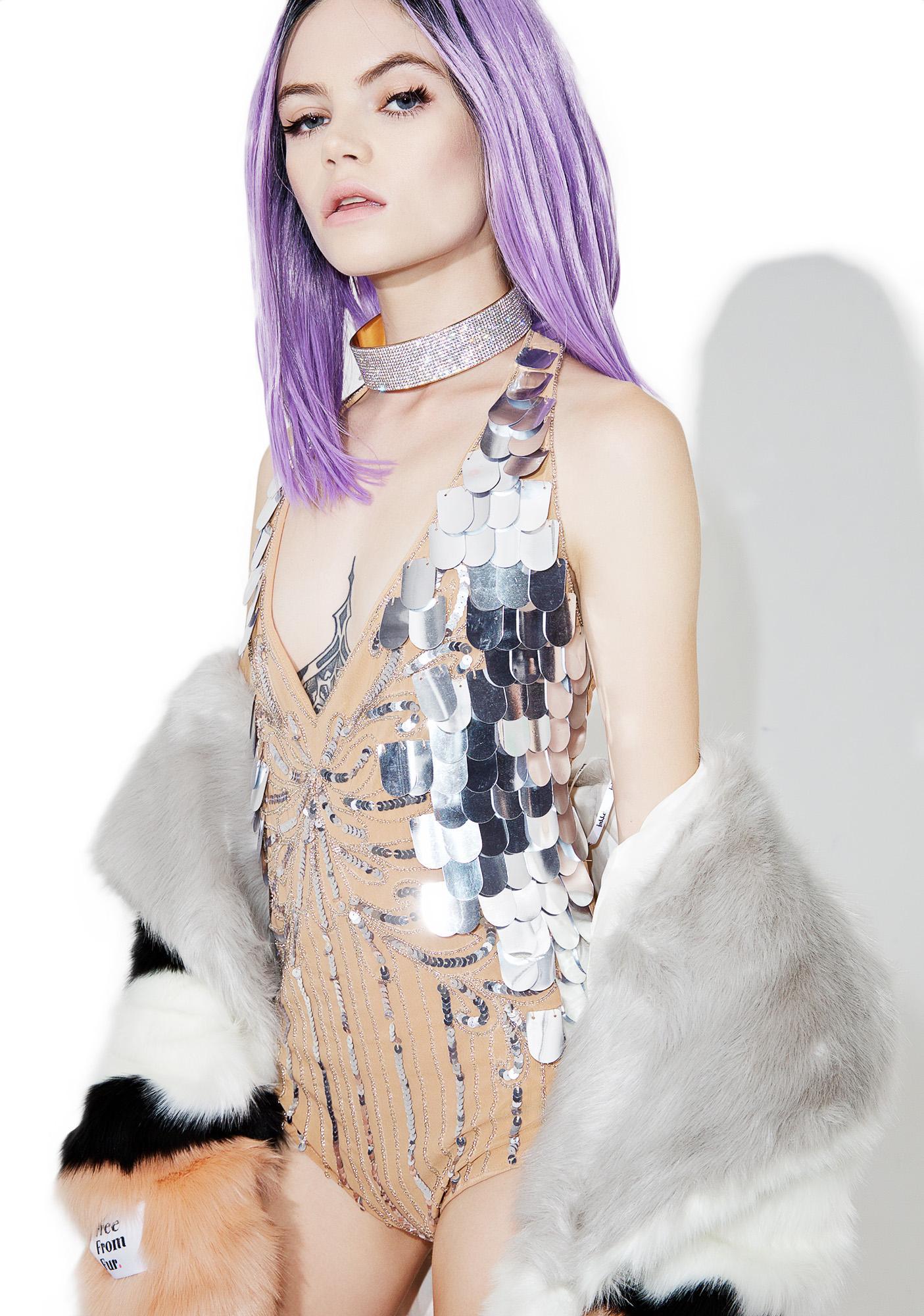Glamorous North Starr Sequin Bodysuit