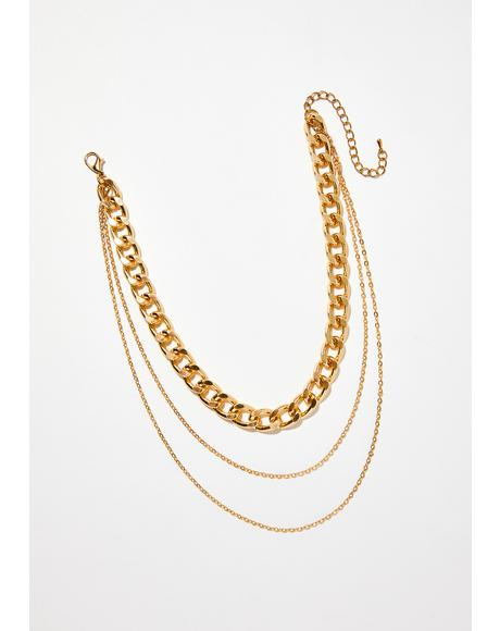 Money To Spend Chain Necklace