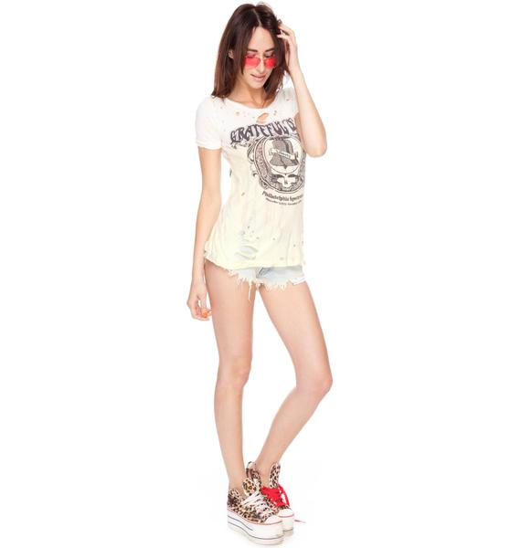 Chaser Grateful Dead Liberty Dead Slouchy Tee