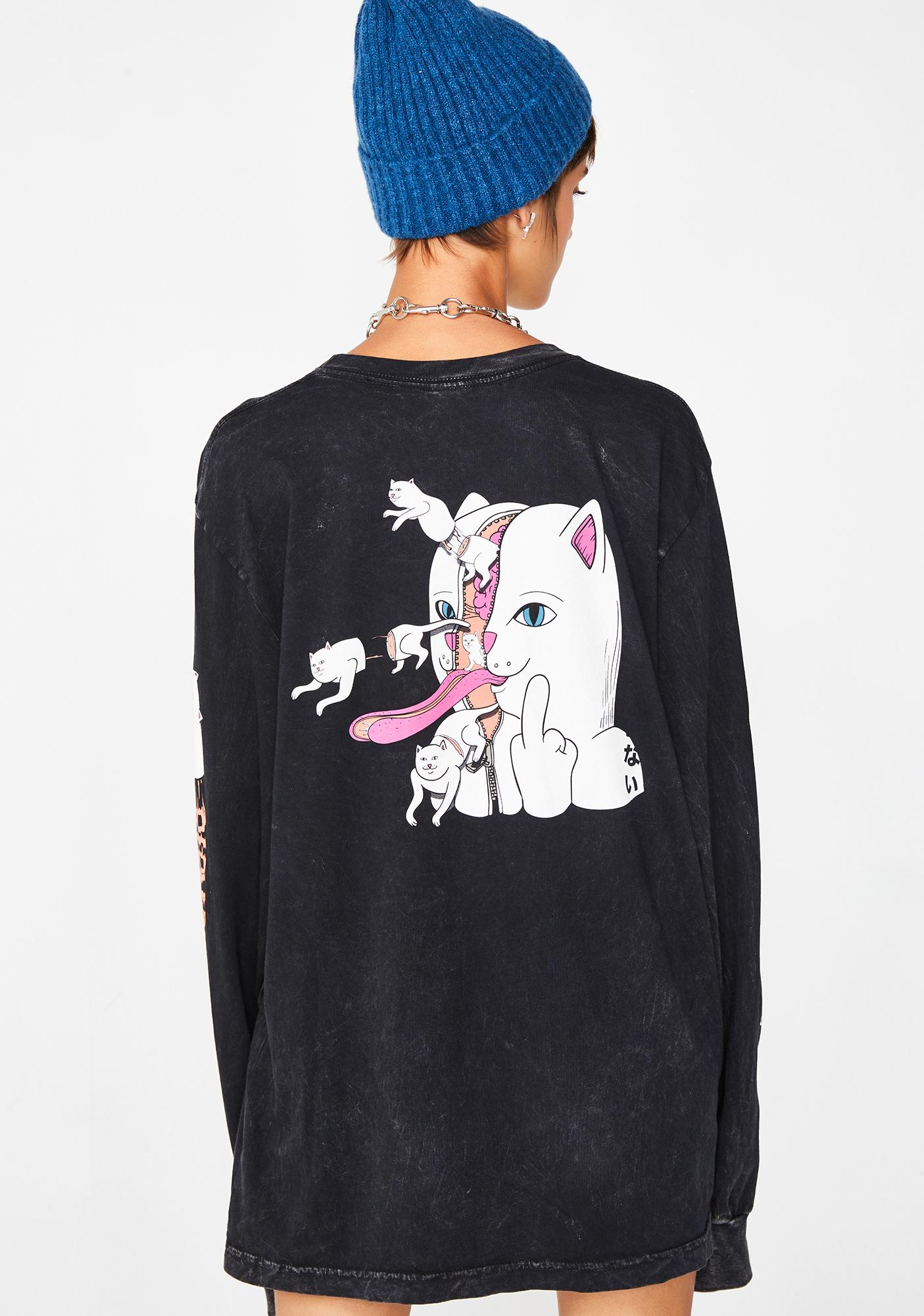 RIPNDIP Zipperface Long Sleeve