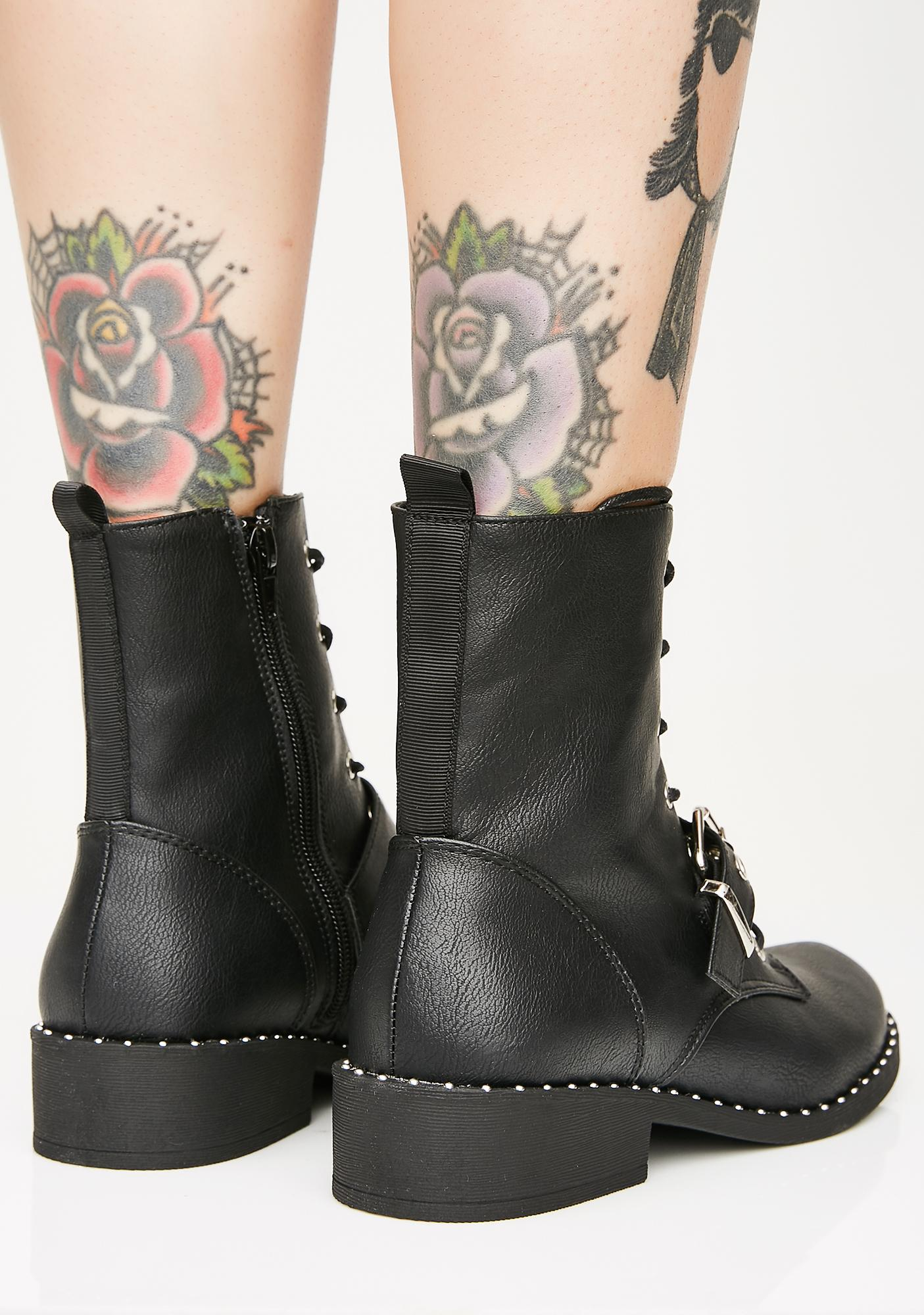 Come Get Some Combat Boots