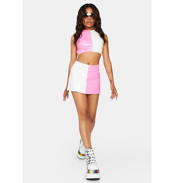 Candy Comin' Through Skirt Set