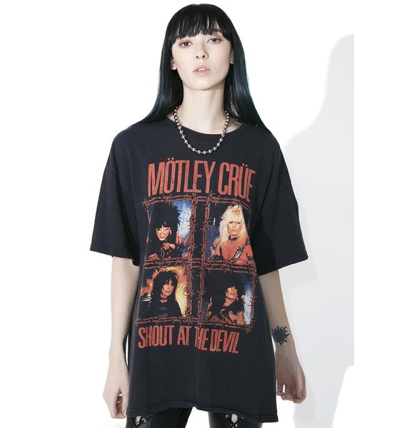 Vintage Motley Crue Shout At The Devil Tee