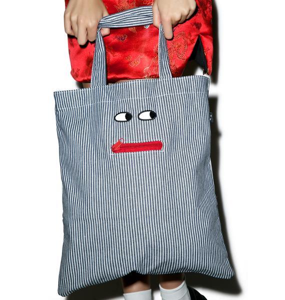 Lazy Oaf Pocket Mouth Tote Bag
