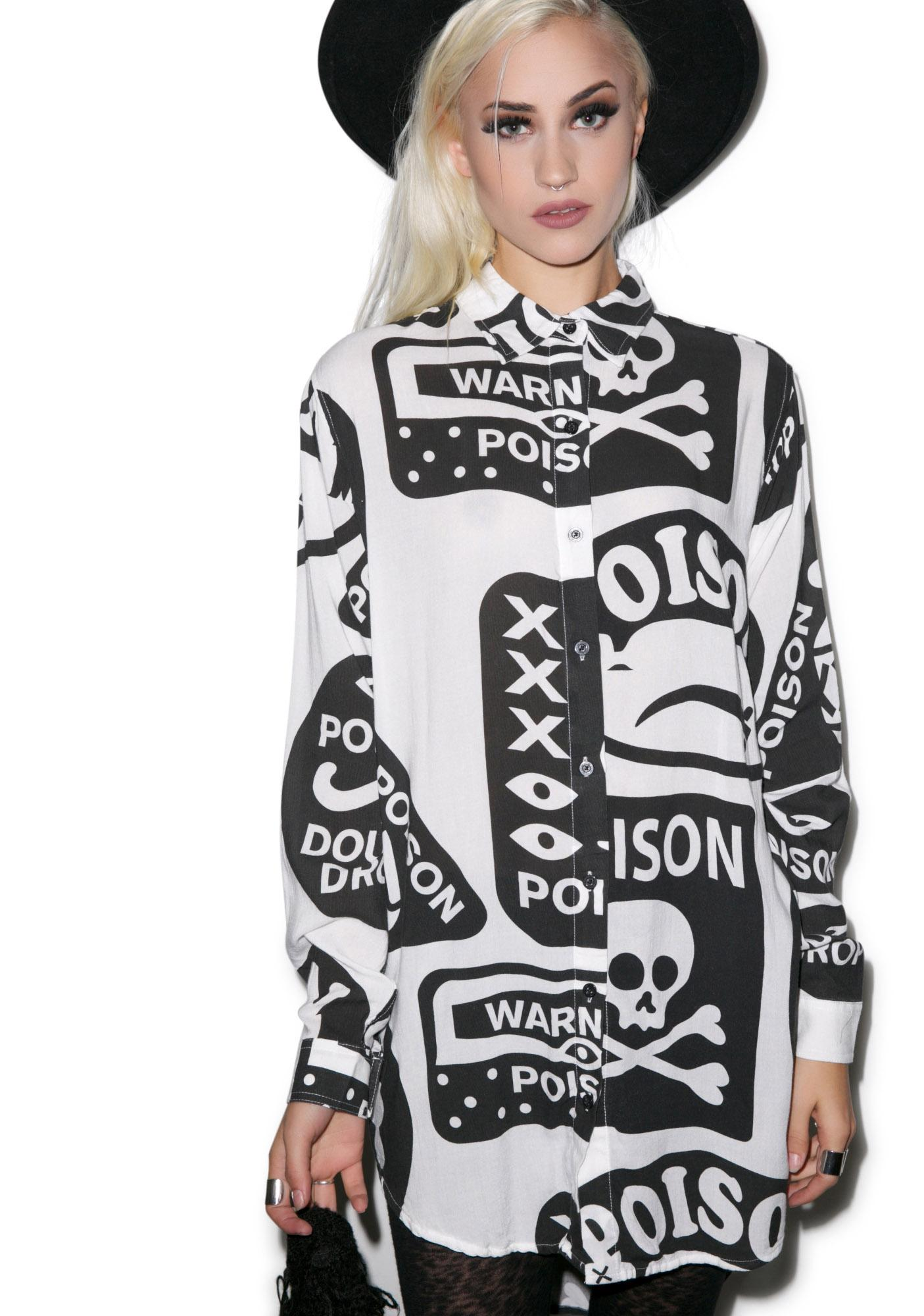 Lazy Oaf Poison Shirt