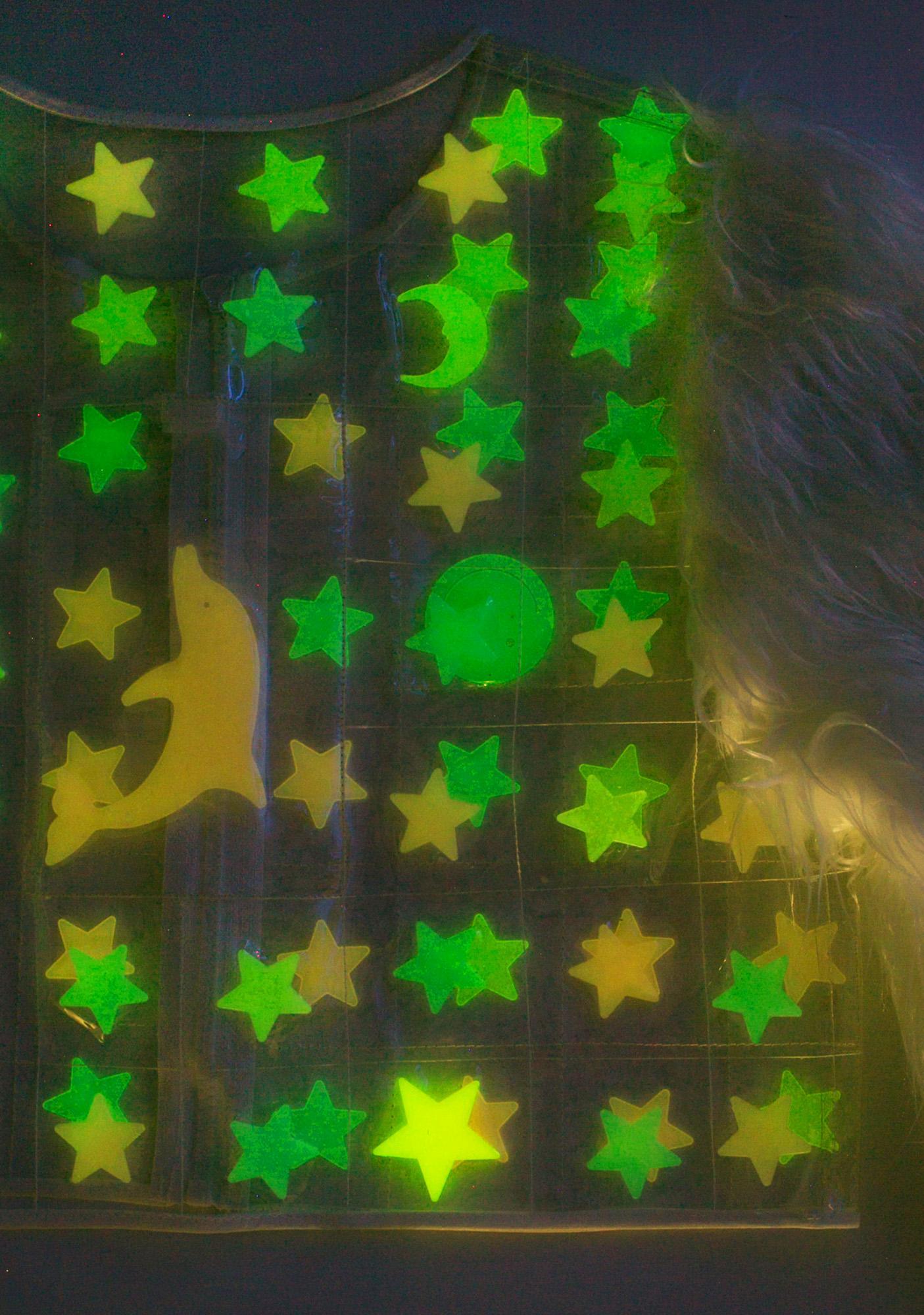 Indyanna Lil Luna Glow In The Dark PVC Jacket