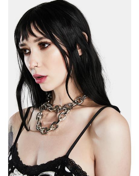 Walk On Through Chain Necklace