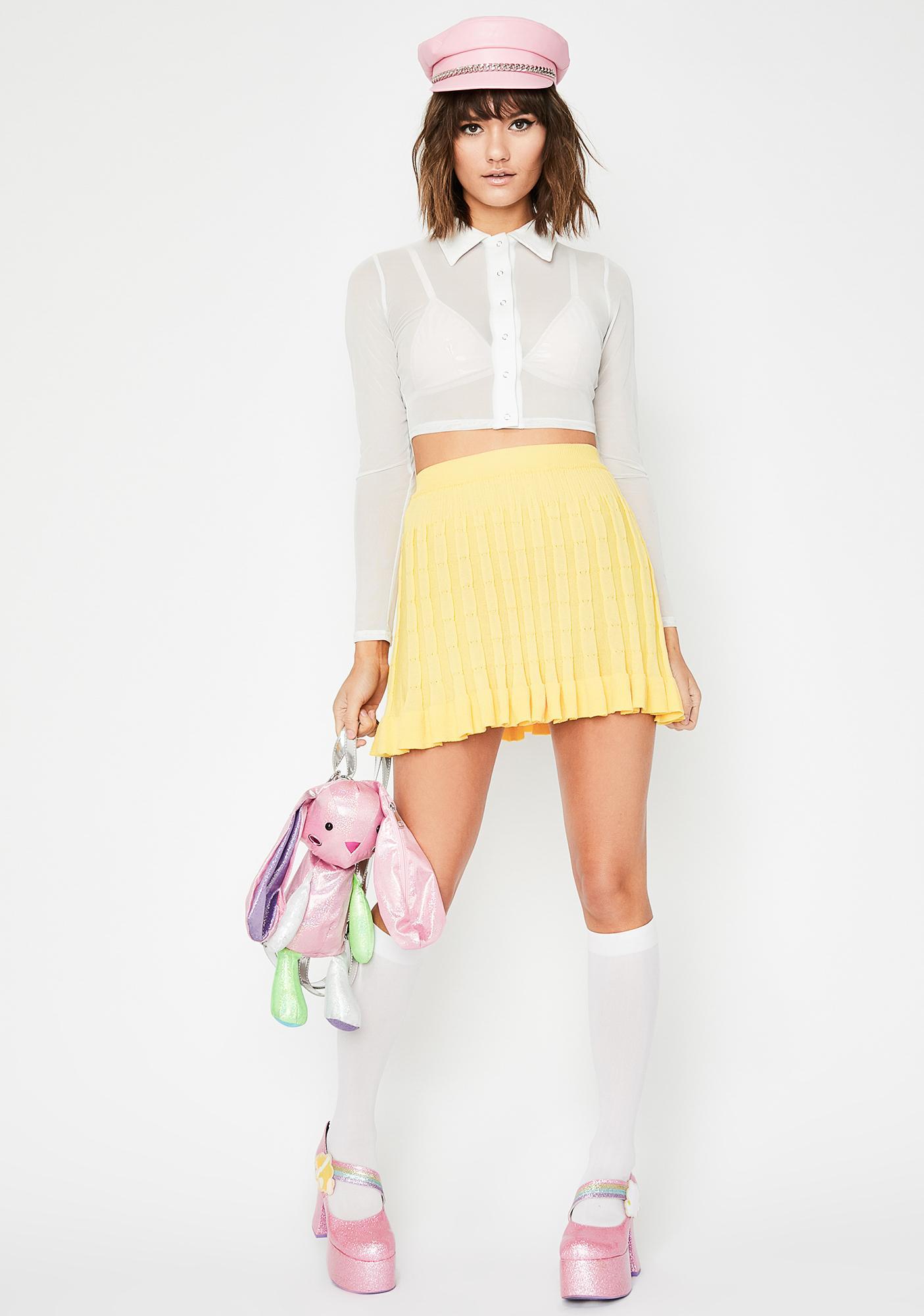 Sunny Slay School Pleated Skirt