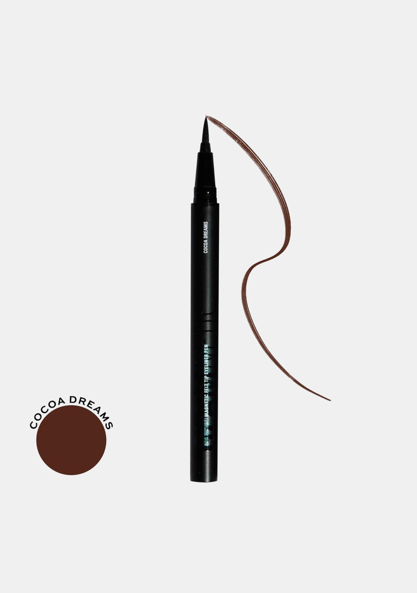 Glamnetic Cocoa Dreams Soo Future! Magnetic Felt Tip Eyeliner