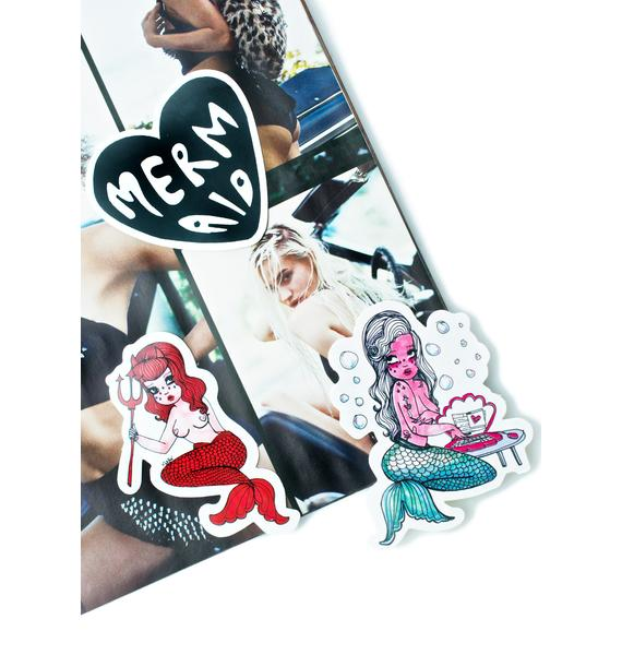 Valfré Mermaid Sticker Pack