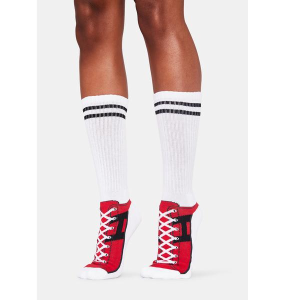 HUF Hupper Two Crew Socks