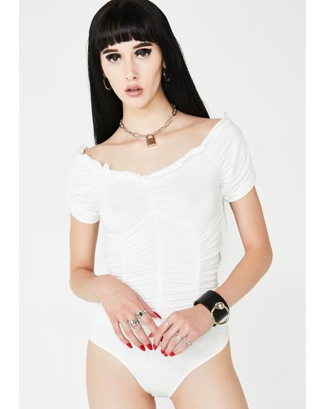 Dreamy City Ruched Bodysuit
