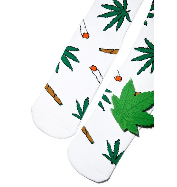 Odd Sox Fresh Weedies Socks