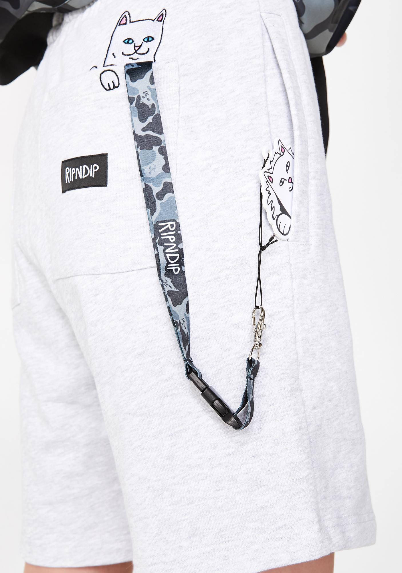 Blackout Nerm Camo Lanyard by Ripndip