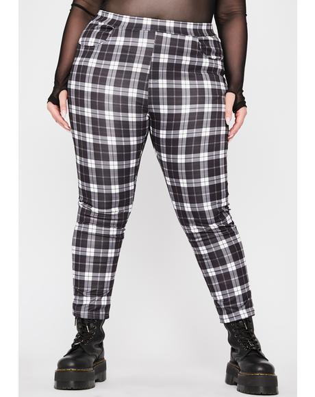 Got No Compromise Plaid Pants