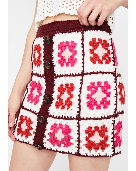 Arts N' Crafty Crochet Skirt