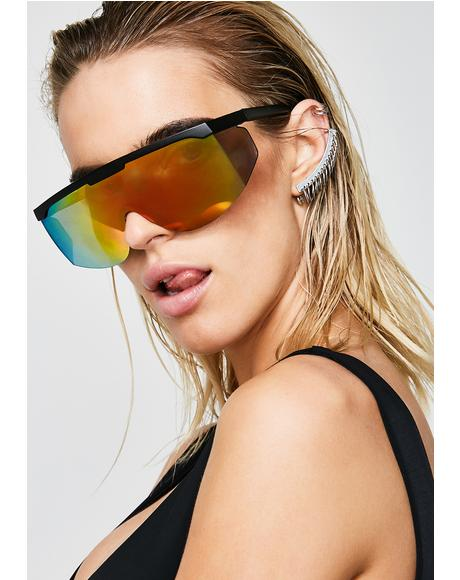 Rainbow Trip Hop Sunglasses