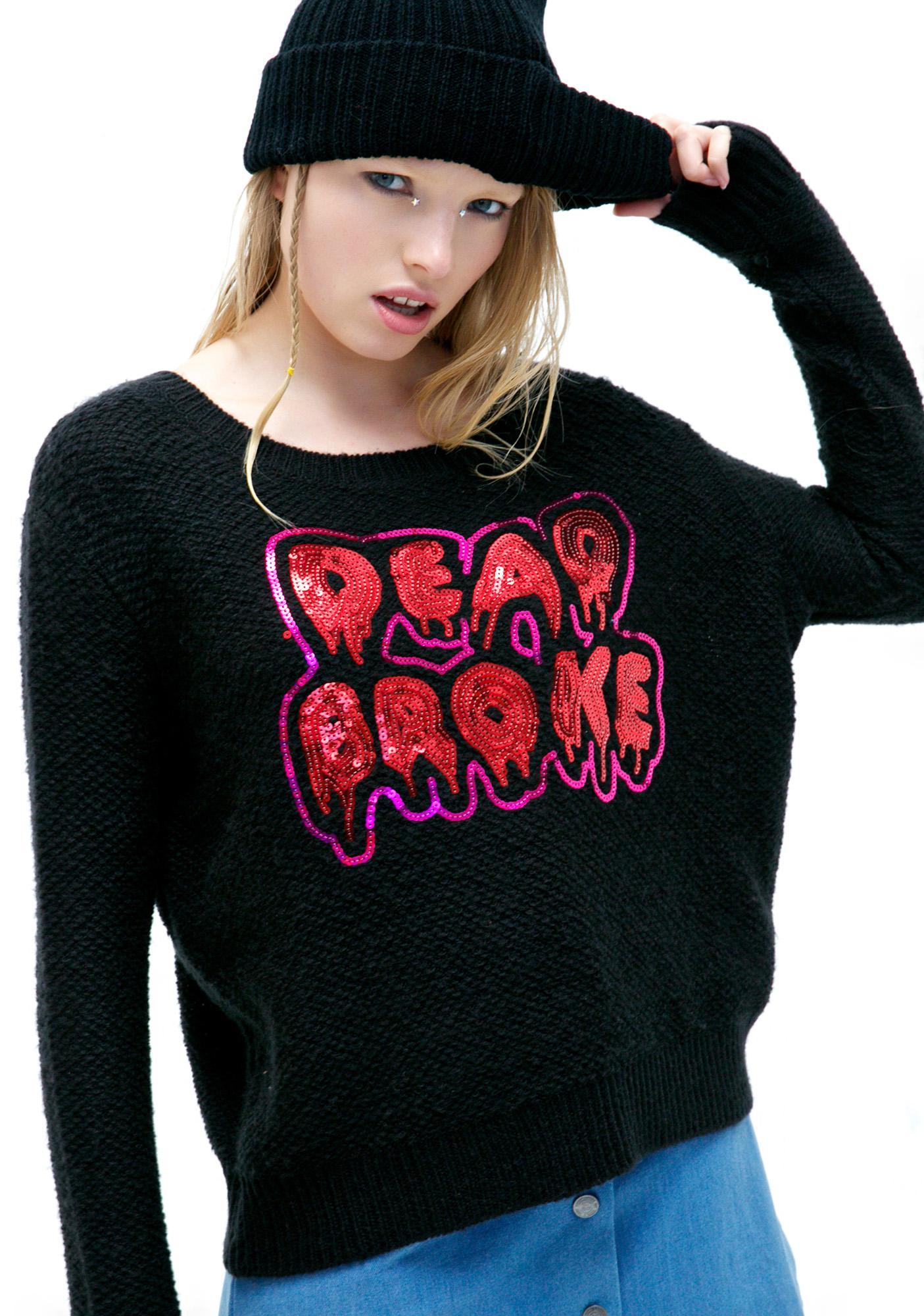 Iron Fist Dead Broke Sweater