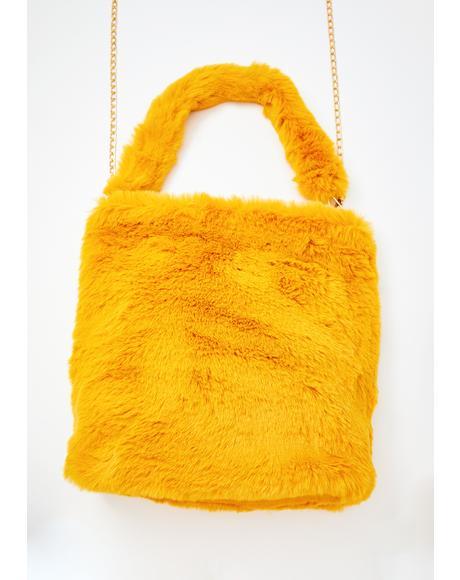 Feisty Fiend Furry Shoulder Bag