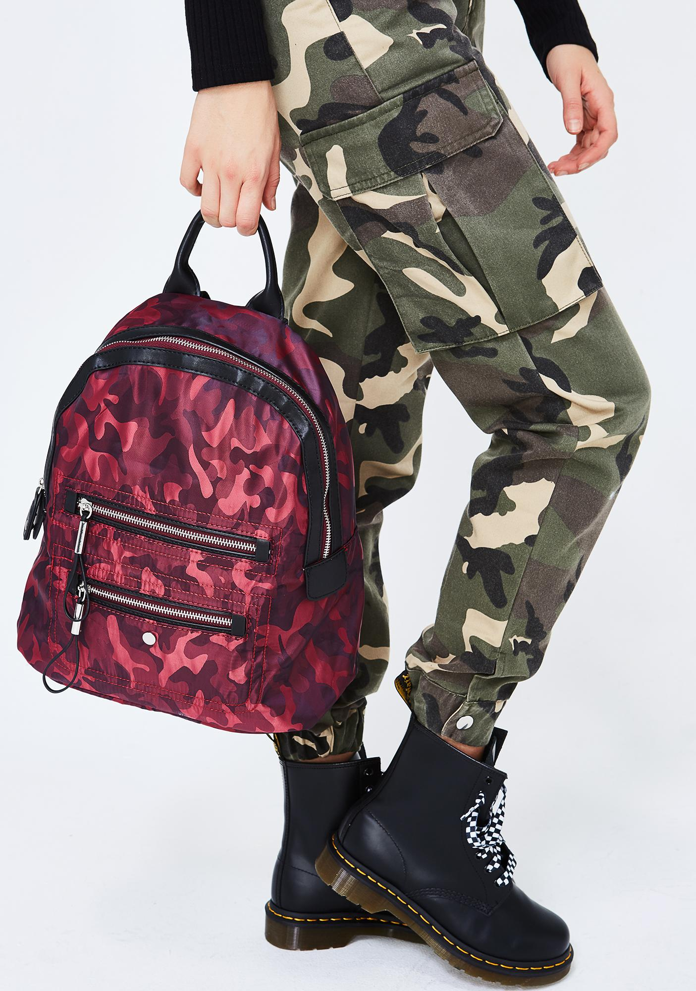 Army Of None Camo Backpack