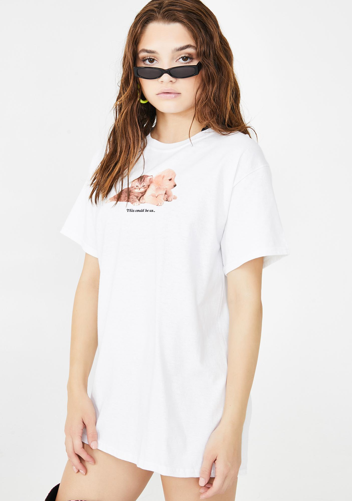 Petals and Peacocks What Could Be Graphic Tee