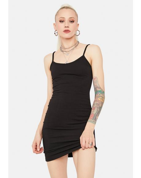 Whatever You Say Mini Dress