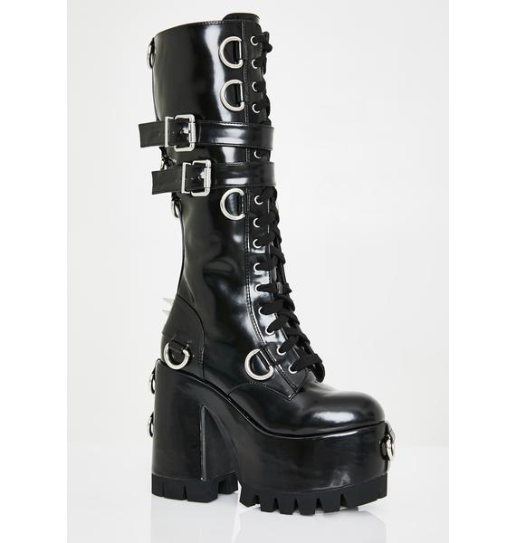 Club Exx Judgement Day Platform Boots