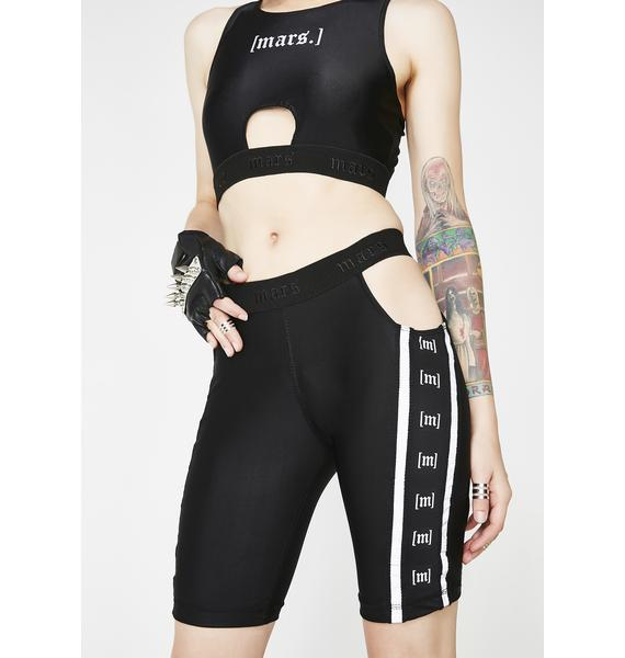 MARS New York The Monogram Biker Shorts