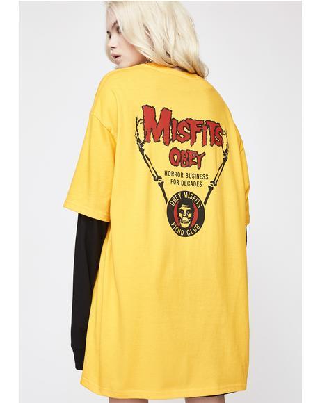 x Misfits Horror Biz Hands Tee